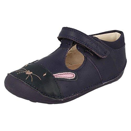 Clarks filles infantile Croiseurs–Little Bunny Bleu Marine