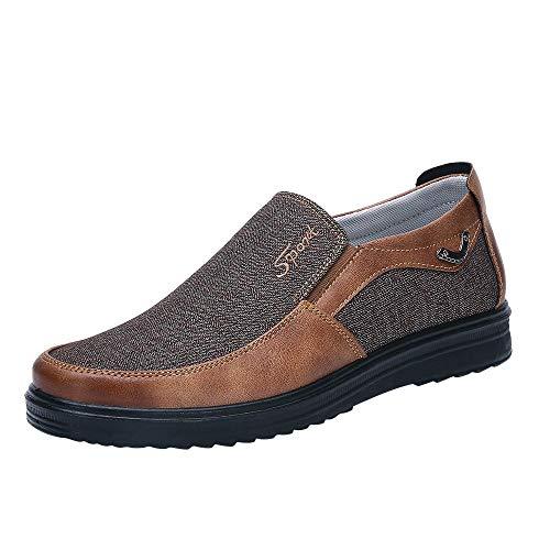 Fannyfuny_Zapatos Hombre Náuticos Zapatos Casuales