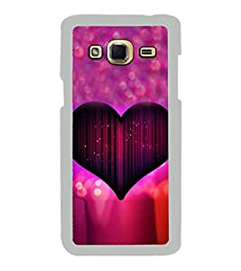 Purple Heart 2D Hard Polycarbonate Designer Back Case Cover for Samsung Galaxy J3 2016 :: Samsung Galaxy J3 2016 Duos :: Samsung Galaxy J3 2016 J320F J320A J320P J3109 J320M J320Y