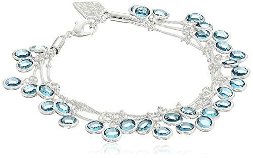 anne-klein-tremblent-3-rangees-argente-et-bleu-bracelet-de-19-cm