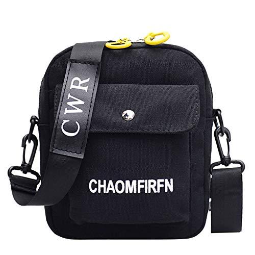 Xuthuly Frauen-Reine Farben-beiläufige Tote-im Freienbeutel-Segeltuch-Handtaschen-Reißverschluss-Umhängetasche -