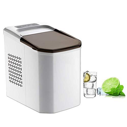 YEXIN Tragbare Digitale Eismaschine, erstes EIS in 6 Minuten, 15 kg täglich, ideal for Küchen, Heckklappen, Bars, Partys, kleine/große Würfel