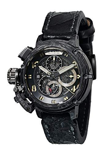 Reloj Automático U-Boat Chimera, Carbono , Titanio, 46mm, Edición Limitada, 8057