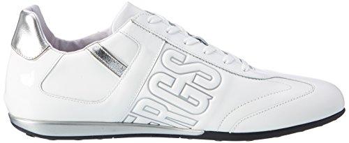 Bikkembergs BKE107926, Sneaker a Collo Basso Uomo Bianco