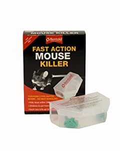 Rentokil PSF135 Double piège à souris Action rapide