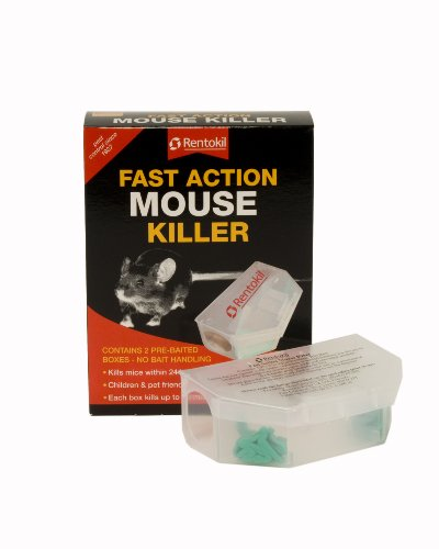 Centurion 90102 PSF135 Fast Action Mouse Killer Twin pack - Multi-Color
