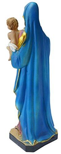 Kaltner Präsente Geschenkidee - Deko Figur Mutter Gottes Maria Madonna mit Jesus Kind - 3