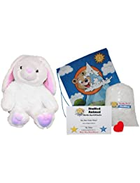 "Make Your Own Stuffed Animal ""Cottonball The Bunny"" - No Sew - Kit With Cute Backpack!"