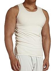 KomPrexx Camiseta Sin Mangas Deporte Hombre Camisetas de Tirante Tank top para Fitness Running