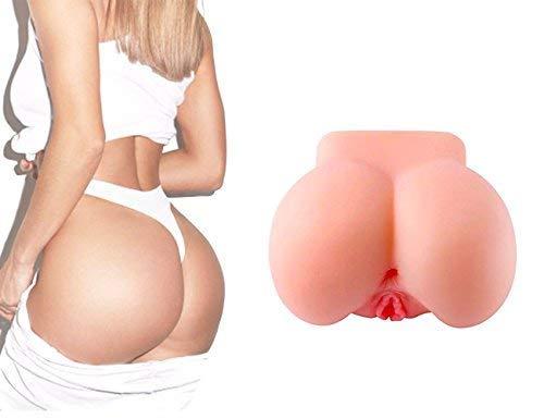 Muschi Masturbator Sexspielzeug Nabini 3D Gummimuschi Realistische Masturbatoren Männer Lifelike Erotik-Sexspielzeug Männer Silicone Vagina Masturbieren Mann mit Extra Eng Vagina und Anal(4.7lb) - 8