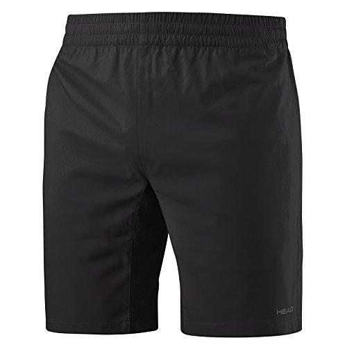HEAD Jungen Club Bermuda Shorts, schwarz, M
