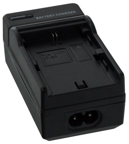Smartfox Kameraakku Ladegerät für Canon EOS 5D Mark II 5D Mark III 6D 7D 60D 60Da 70D / LPE6 /LP E6 / LP E 6 / Passend für Originalakku Bezeichnung: LC-E6 ACK-E6 CBC-E6
