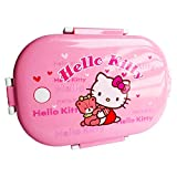 Parteet Cartoon Print Insulated Stainless Steel Kids Lunch Box for Kids (Kitty)