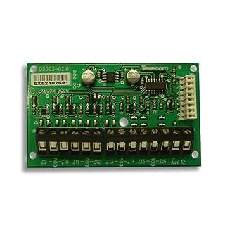 Texecom Premier CCD-0001 8XE 8 Zonen Expander PCB, 8 zusätzliche Ausgänge, Grade 3, 8 CCD-0001