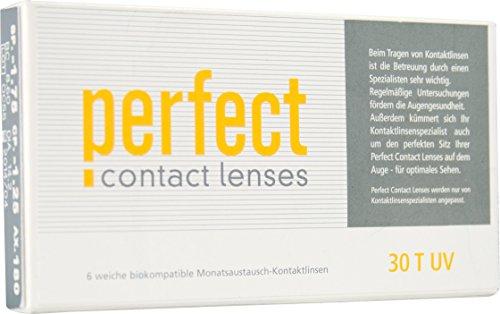 Perfect 30 T UV, torische Monatslinsen weich, 6 Stück / BC 8.60 mm / DIA 14.2 / CYL -1.75 / ACHSE 180 / -5.75 Dioptrien