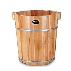 Fuß Bad Barrel, Massivholz Hause 40cm Fuß Bad Barrel, Holz Fuß Spa Becken, Fußmassage Becken, Fuß Bad Barrel Größe: 30 * 40 * 37cm