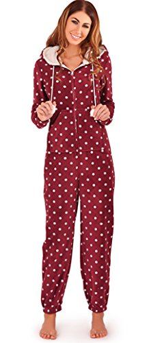 dotty-damen-micro-fleece-all-in-one-body-mit-sherpa-borg-kapuzenfutter-und-pom-pom-detail-pflaume-cr
