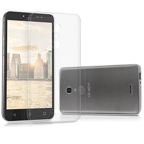 kwmobile Alcatel A3 XL Hülle - Handyhülle für Alcatel A3 XL - Handy Case in Transparent