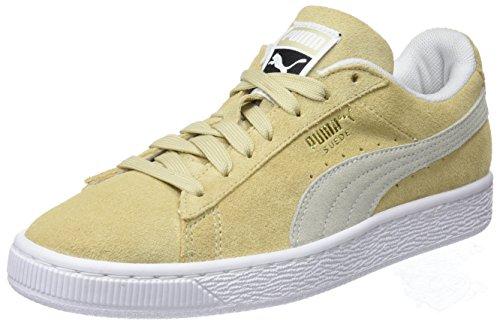 Puma Unisex-Erwachsene Suede Classic Sneaker, Beige (Pebble White), 40.5 EU