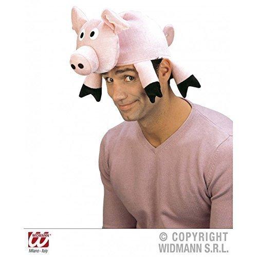 Lustig aussehende Tiermütze Schwein