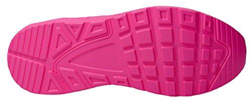 gibra, Sneaker donna Rosa neon