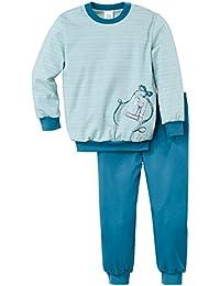 Calida Mädchen Zweiteiliger Schlafanzug Pyjama Bündchen Ice Bambini