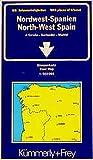 Kümmerly & Frey Karten, Nordwest-Spanien (Kümmerly+Frey Strassenkarten) - Collectif