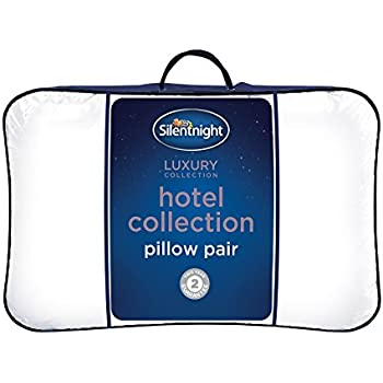 Silentnight Hotel Collection Pillow Pack Of 2 Amazon Co