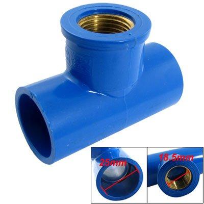 sourcingmap-25mm-slip-185mm-female-thread-three-way-t-connector