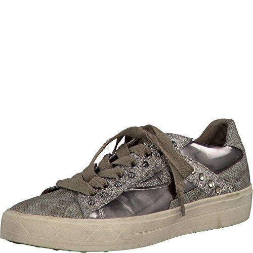 TAMARIS Damen Sneakers Grau, Schuhgröße:EUR 42