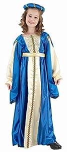 Fyasa 706049-T01 - Disfraz de Princesa Azul para 4 a 6 años,, tamaño Mediano