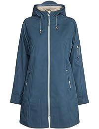 Ilse Jacobsen Women 3/4 Raincoat Rock Blue