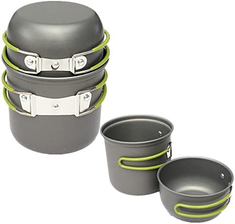 Plat Firm 2 PCS Outdoor Outdoor Outdoor Camping Picnic Cookware Cook Pot Bowl B07J9J69L3 Parent | Qualità E Quantità Assicurata  | benevento  | Durevole  385a40