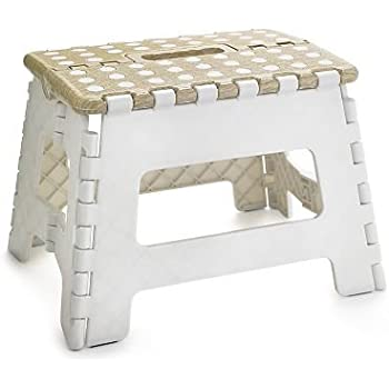 Excellent Small Folding Step Stool Colours May Vary Amazon Co Uk Machost Co Dining Chair Design Ideas Machostcouk