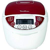 Moulinex MK705111 Robot de Cocina Tradicional 12-en-1 Rojo 5 L