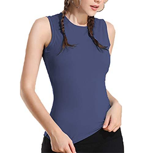 AMURAO Frauen Sommer Sportswear Ärmelloses Workout Tank Atmungsaktiv Schnell Trocknend Yoga Tops für Fitness -