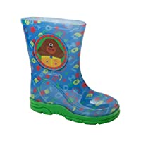 Boys Hey DUGGEE Blue Official Wellies RAIN Boots Wellys Wellingtons UK Size 5-10
