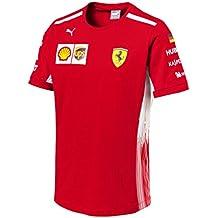 Scuderia Ferrari F1 Racing SF Driver Sebastian Vettel Maglietta Ufficiale  2018 5bf232f57ebc