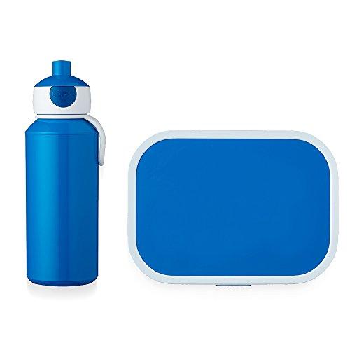 Mepal Pop-up Trinkflasche und Brotdose lunchset-Campus-pubd-blau, abs, 0 mm, 2