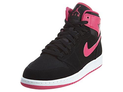 wholesale dealer 61943 95978 ... order nike damen air jordan 1 retro high gg laufschuhe schwarz rosa  weiß pink schwarz vivid ...