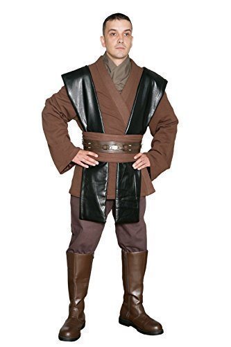 Star Wars Anakin Skywalker Jedi Kostüm - Tunika Satz - Replik Star Wars Kostüm - Herren XL
