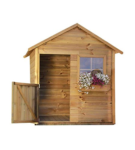 generico casetta in legno da giardino (mateusz - 126 x 112 x 158h)