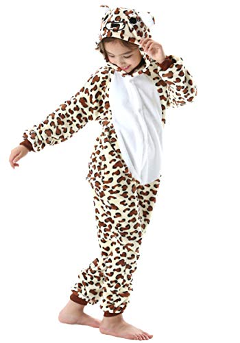 Pijama Animal Entero Unisex Niños Capucha Cosplay