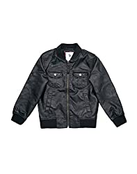 U.S. Polo Assn. Boys Casual Black Jacket(_8907378643063_Black_Small_)