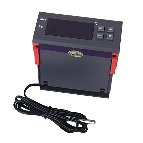 Sonline AC 90V-250V Digitale Temperaturregler Thermostat MH1210W (Mini-kühlschrank Tabelle,)