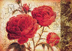 "Eurographics JO2073 Stampa artistica ""Red Yearning"" di Joadoor, 70x100 cm"