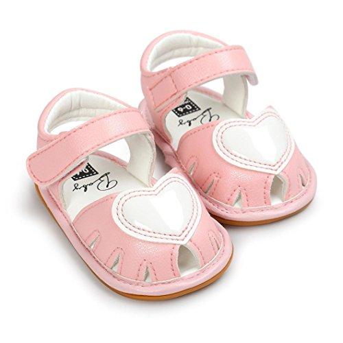 Igemy 1Paar Baby Mädchen Sandalen Casual Sneaker Anti-Rutsch Soft Sole Kleinkind Schuhe Rosa V9M5gPcDD