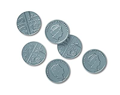 Learning Resources Five Pence Coins, Set of 100 by Learning Resources