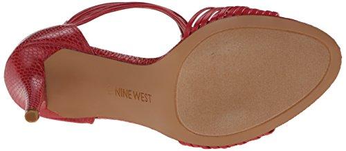 Nine West Dechico Synthétique Sandales Pink Orange/Pink Orange