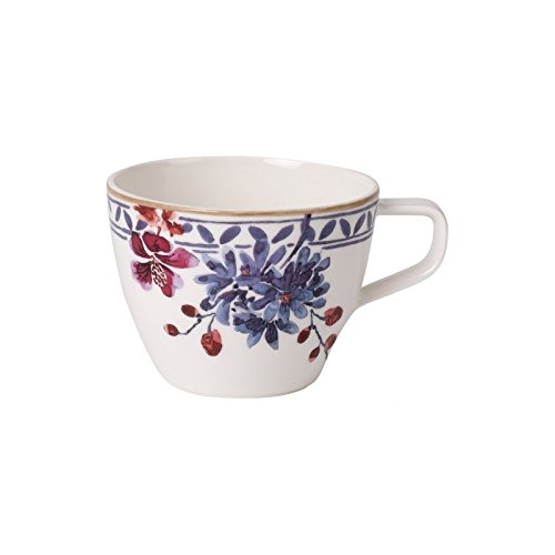 Villeroy Boch Artesano Provencal & Lavendel Tasse, Porzellan, Blume, 1Stück